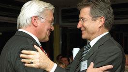 Frank-Walter Steinmeier und Wolfgang Huber