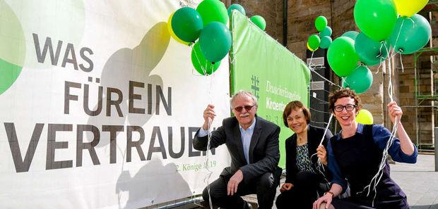Motto des Kirchentags 2018 in Dortmund