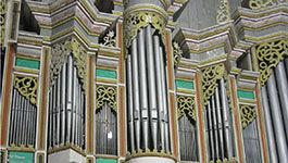 Orgel in der St. Servator-Kirche in Schlotheim (Thüringen)