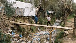 Kinder imFlüchtlingscamp Mora