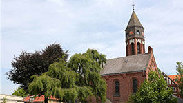 Kirche im Hessischen Diakoniezentrum Hephata in Schwalmstadt-Treysa