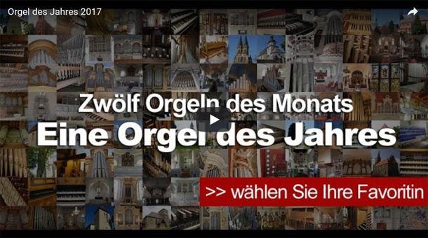 Screen: Orgel des Jahres