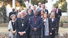 Mitglieder der Ratsdelegation in Südafrika