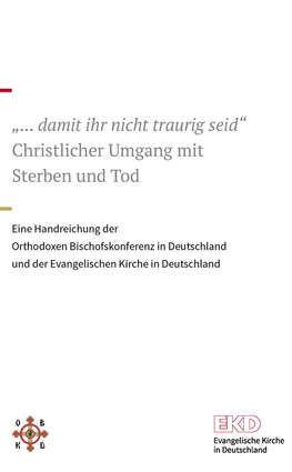 """Deckblatt """"Christlicher Umgang mit Sterben und Tod"""""""