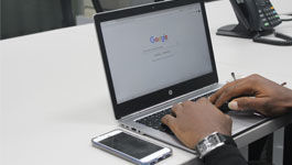 Symbolbild - Suche bei Google