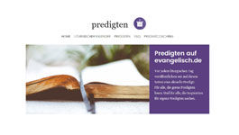 Screesnhot www.predigten.evangelisch.de