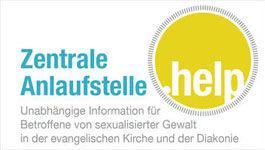 Logo der zentralen anlaufstelle .help