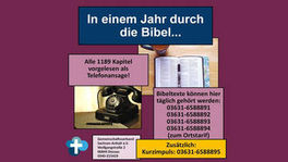 Fotocollage: Telefon, Bibel, Kreuz