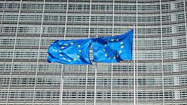 Das Berlaymont ist Sitz und Hauptgebaeude der EU-Kommission in Bruessel