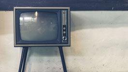 Ein nostalgischer  Fernseher