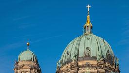 Spitzen des Berliner Doms
