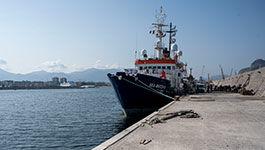 Sea Watch4 im Hafen von Palermo