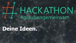 Screenshot der Internetseite #glaubengemeinsam.de