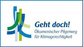 Logo: Ökumenischer Pilgerweg für Klimagerechtigkeit