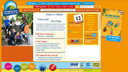 Screenshot www.religionen-entdecken.de