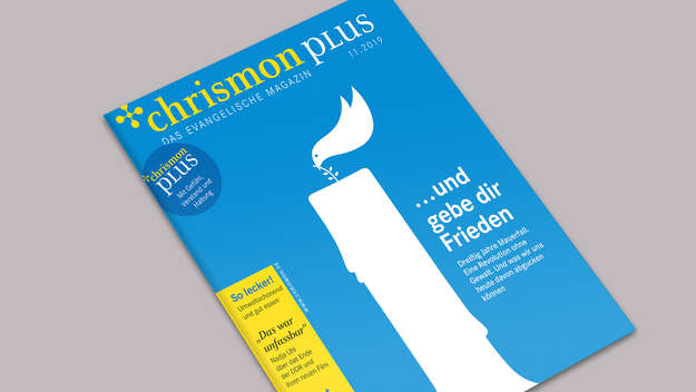 Cover: chrismon spezial im November 2019