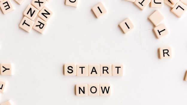 Scrabble-Steine: Start now
