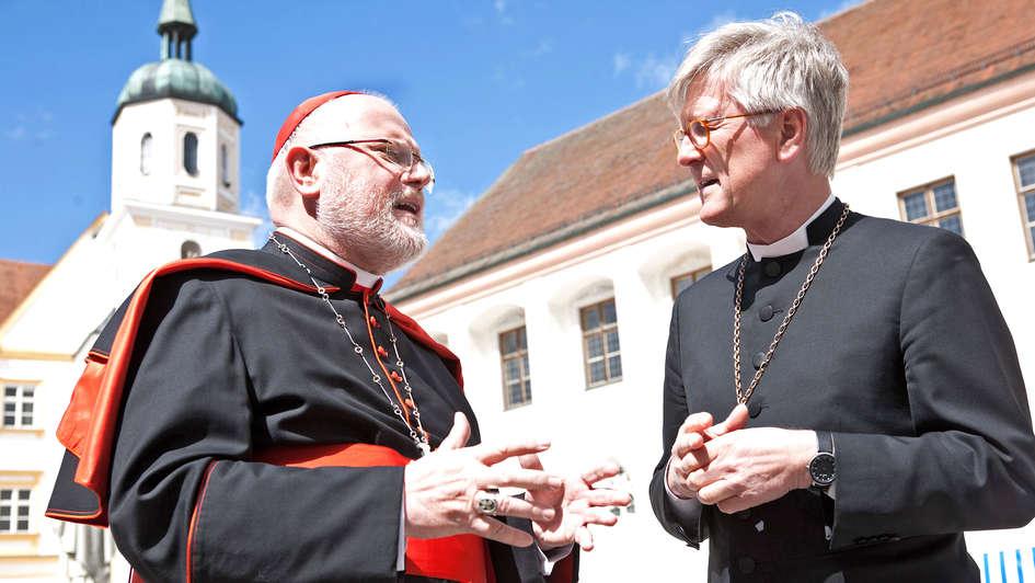 Kardinal Marx und Landesbischof Bedford-Strohm