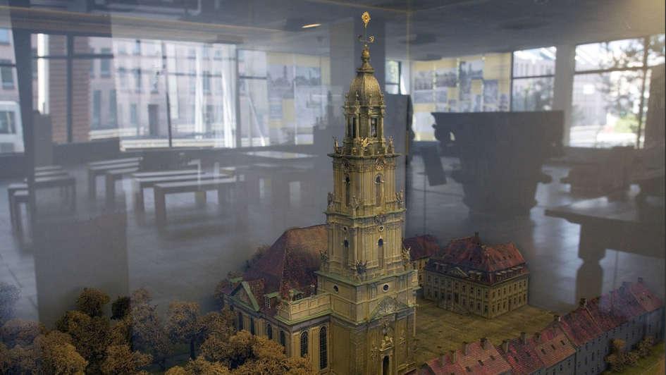 Modell der Potsdamer Garnisonkirche