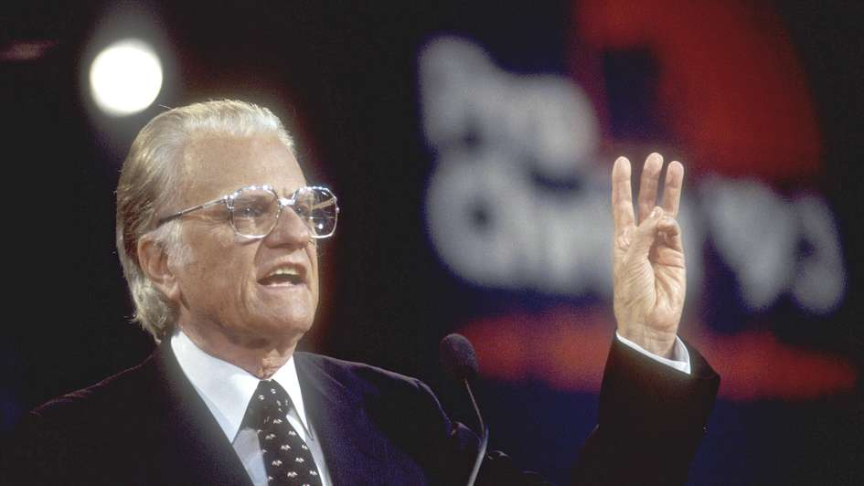 Protestantismus in Deutschland würdigt Billy Graham