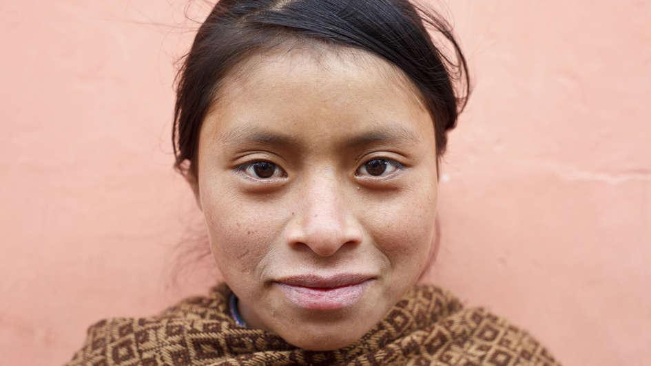 Maya-Mädchen in San Cristobal de las Casas
