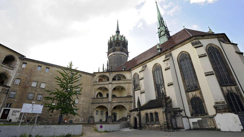Schloss und Schlosskirche in Wittenberg