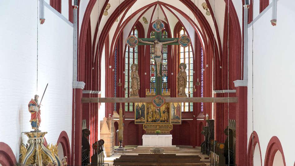 Hochaltar im Dom zu Brandenburg an der Havel