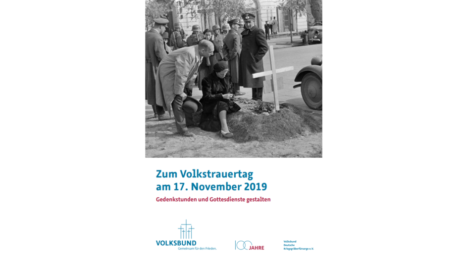 Cover Handreichung Volkstrauertag 2019