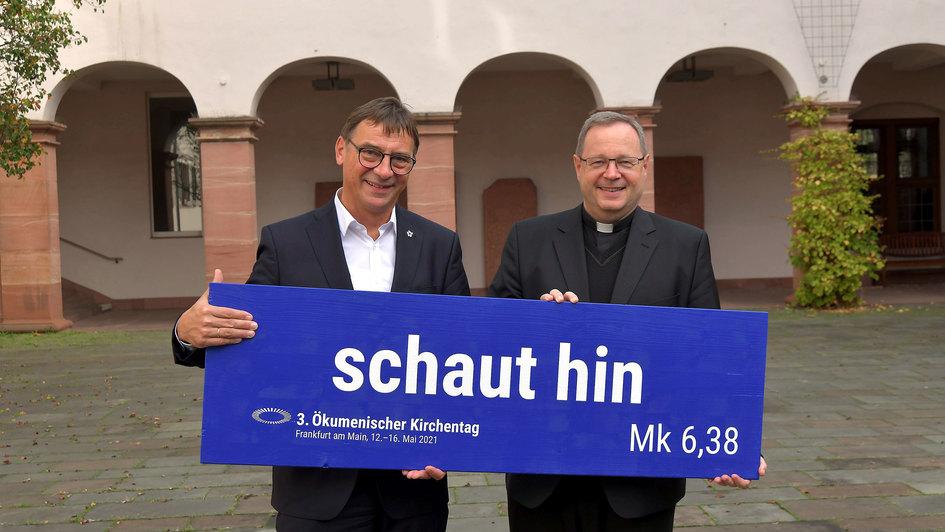 Volker Jung (li.) und Georg Bätzing (re.)
