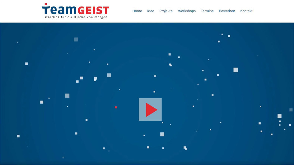 Screenshot TeamGeist