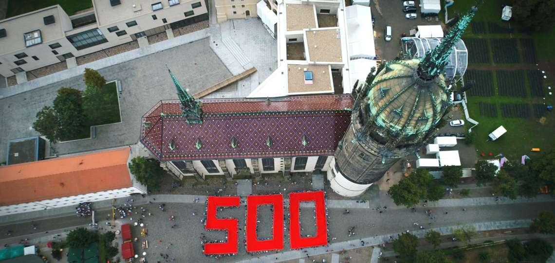 Luftaufnahme Wittenberg