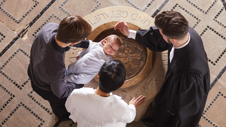 Evangelische Taufe