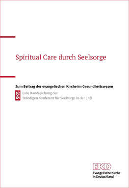 Cover Handreichung: Spiritual Care durch Seelsorge.