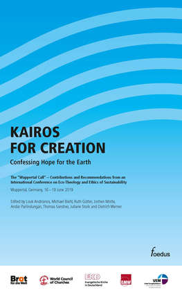 Cover: Kairos for Creation