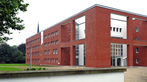 Building of the church office in Hannover.
